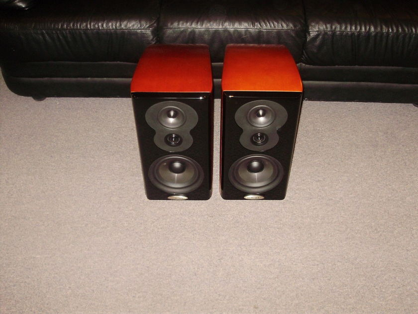 Polk Audio    LSiM703 High Performance Bookshelf Loudspeaker Cherry Finish,Mint