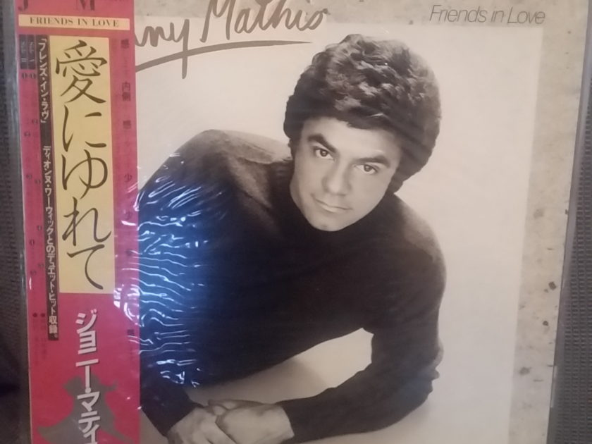 Johnny Mathis (with Dionne Warwick) - Friends in Love LP JAPAN NM