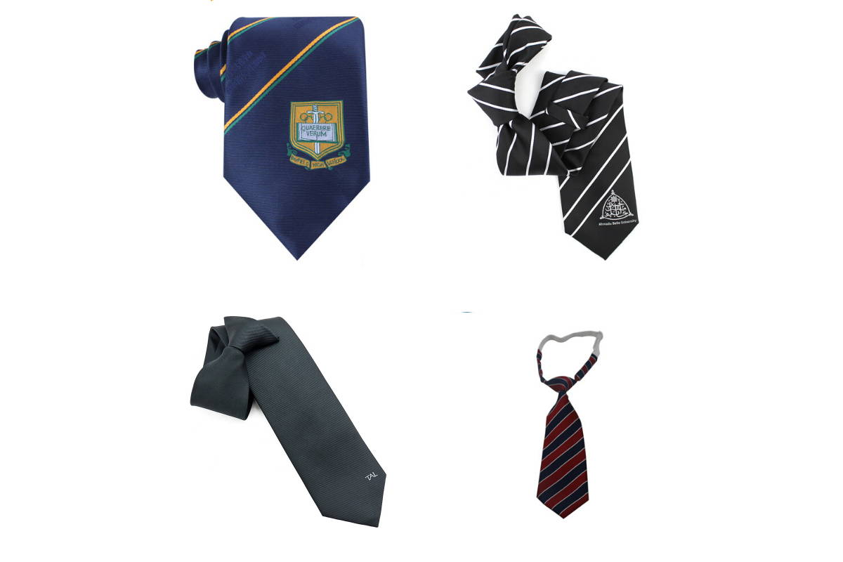 Uniform Custom Logo Necktie