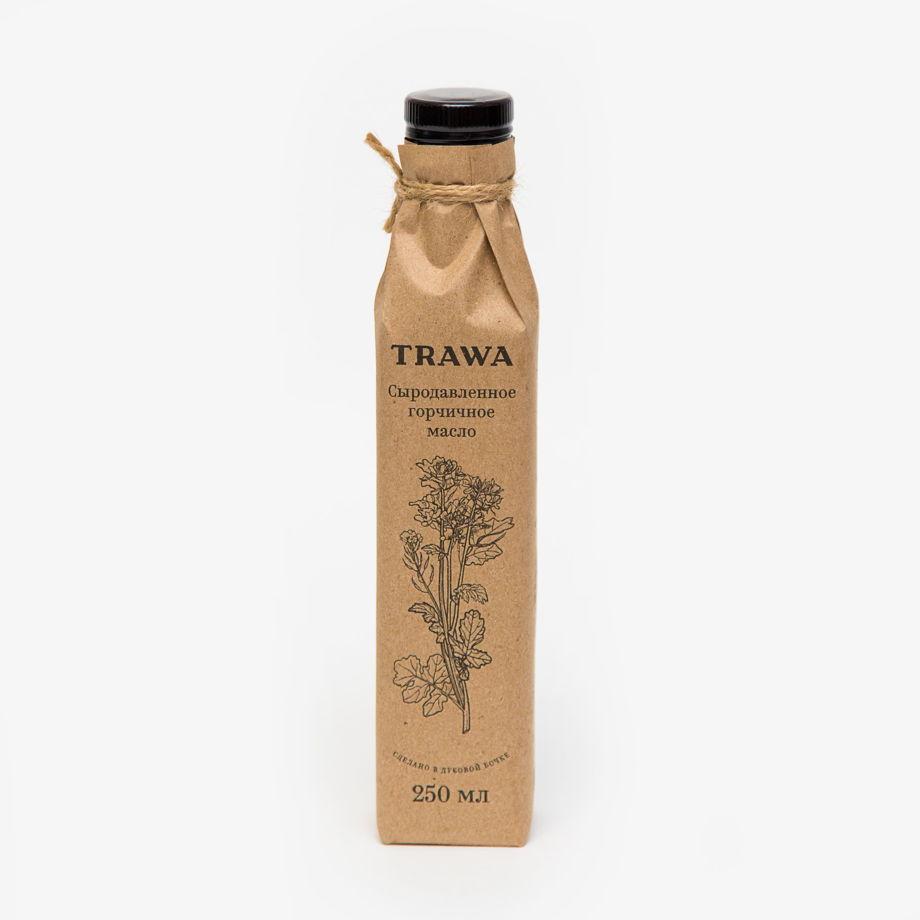 Горчичное сыродавленное масло от TRAWA, 250 мл