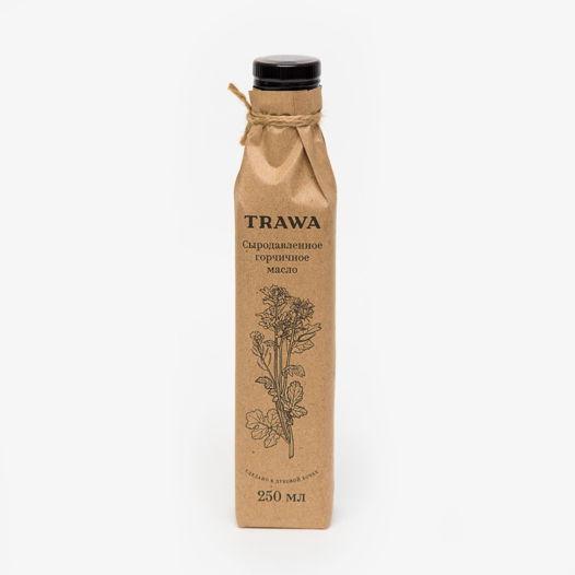 Горчичное сыродавленное масло от TRAWA