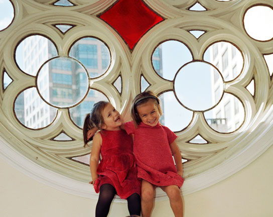 Bellamy and Tallulah - age 3