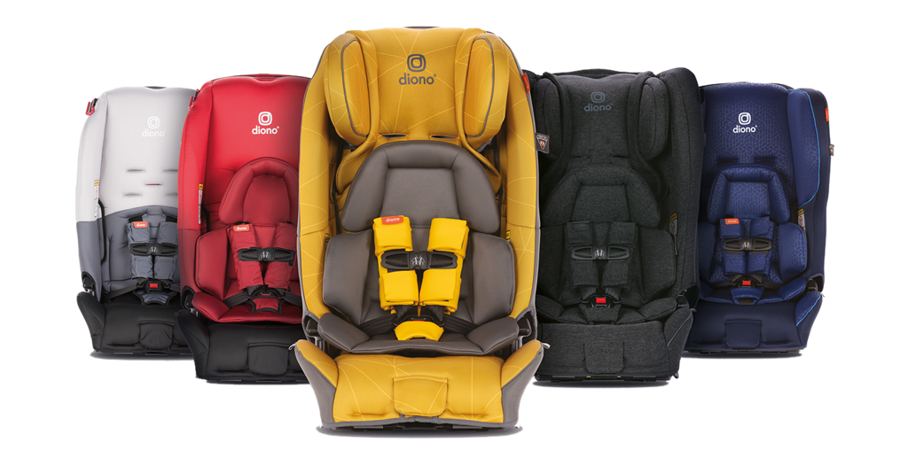 diono® car seats - all-in-one convertible and booster seats