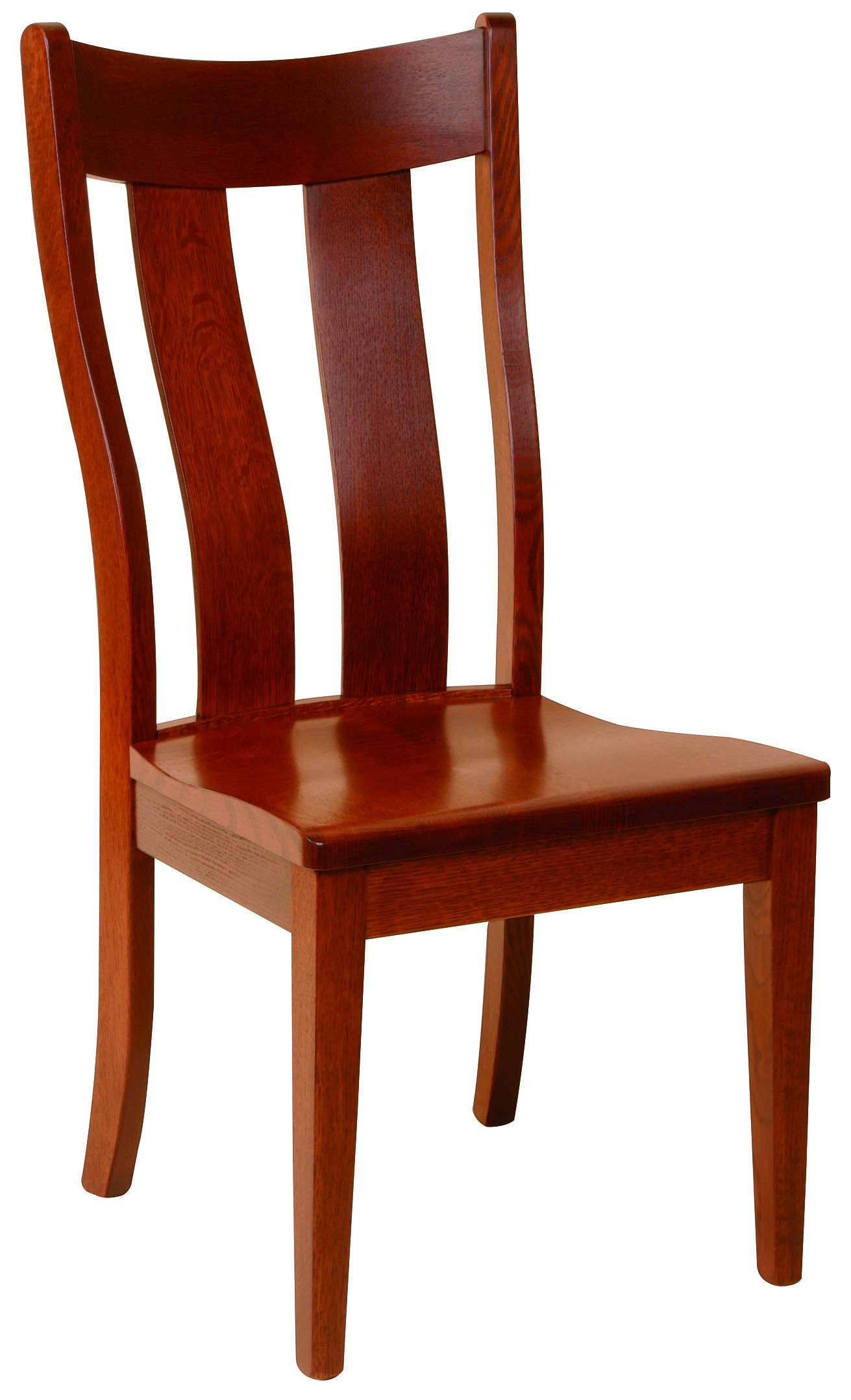 Richfield Solid Wood, Handcrafted Kitchen Chair or DIning Chair from Harvest Home Interiors Amish Furniture