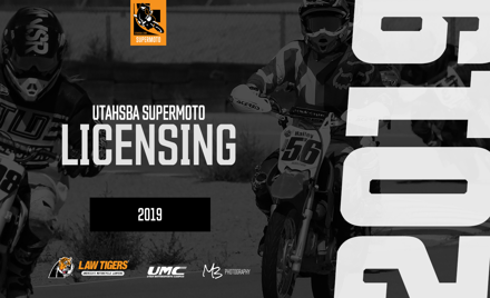 UtahSBA 2019 SuperMoto Race License