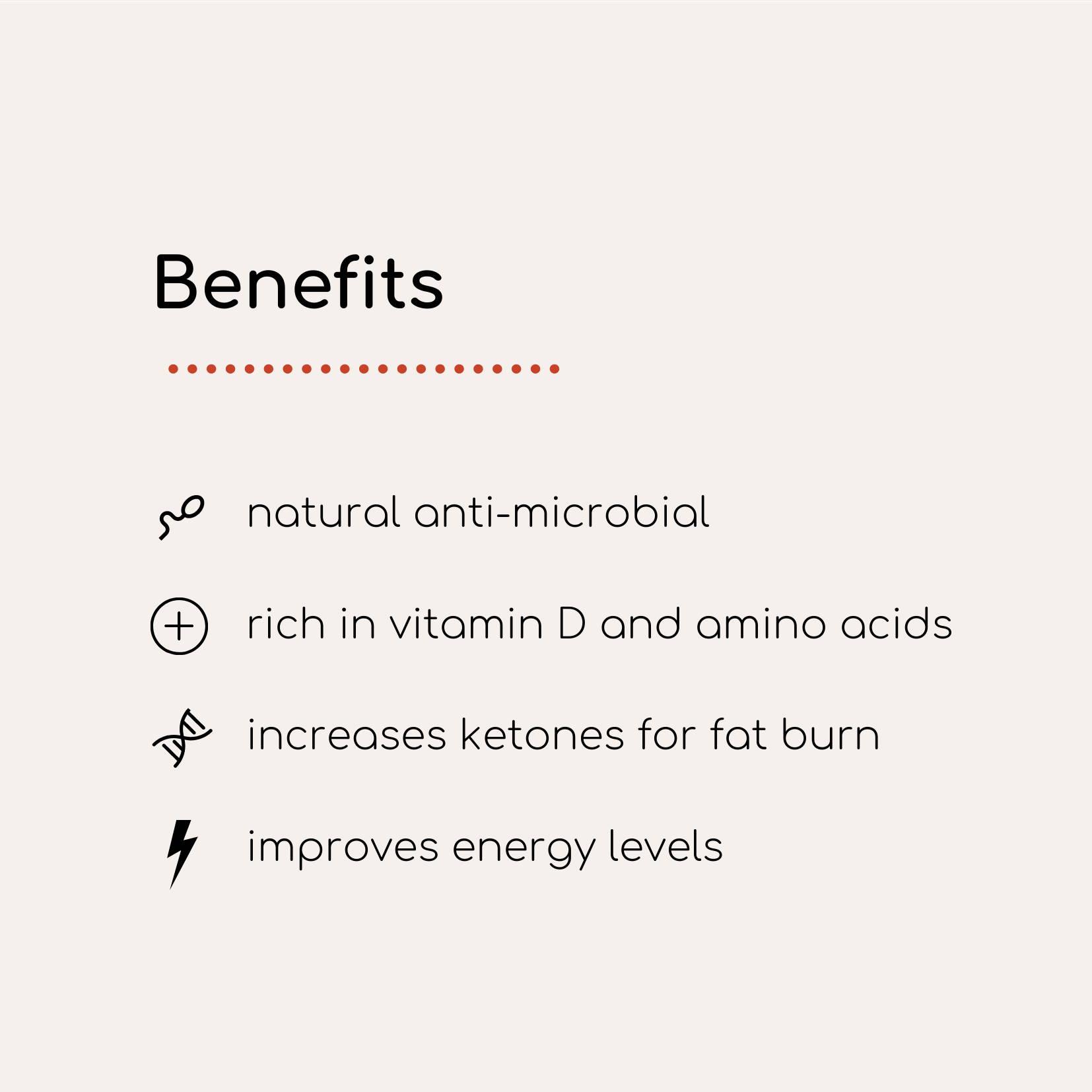 infographic list of benefits