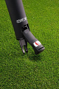 The GameSaver golf putter grip repairs ball marks