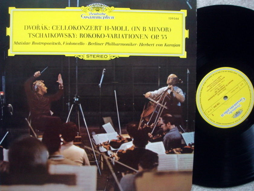 DG / ROSTROPOVICH-KARAJAN, - Dvorak Cello Concerto, EX!