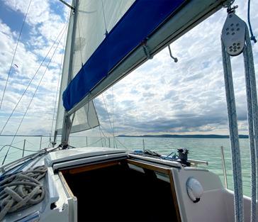 Прогулка на парусной яхте по озеру Балатон
