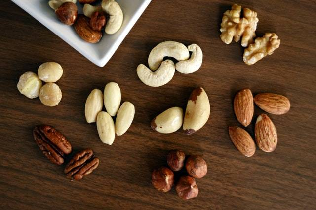 Nuts and seeds are great for keto.