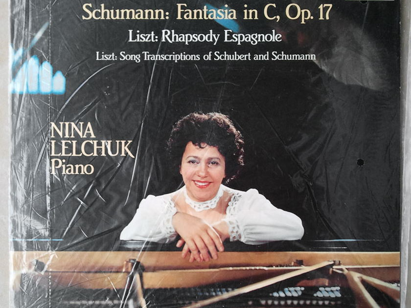 SEALED Audiophile TELARC | LELCHUK/SCHUMANN - Fantasia in C Op.17/LISZT Rhapsody Espagnole, Song Transcriptions of Schubert and Schumann