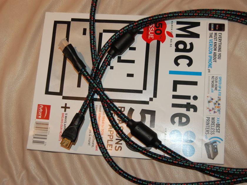 Audioquest AQ HDMI-3 3m cable excellent