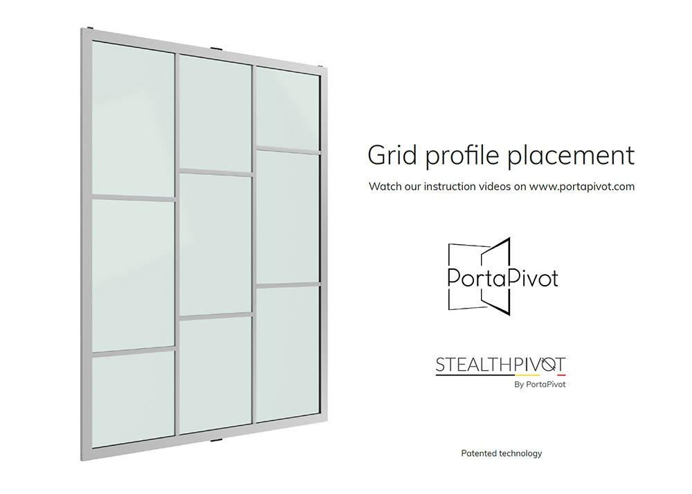 Slideways 6530 grid installation manual