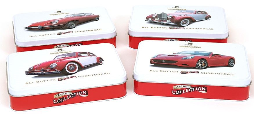 Campbells tin collection of car images