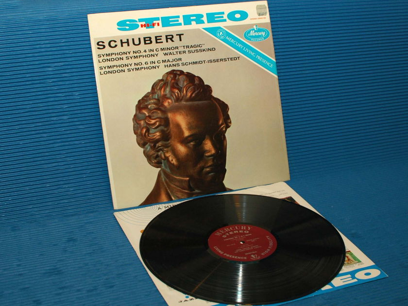 "SCHUBERT/Susskind -  - ""Tragic' Symphony"" -  Mercury Living Presence 1959 Early pressing"
