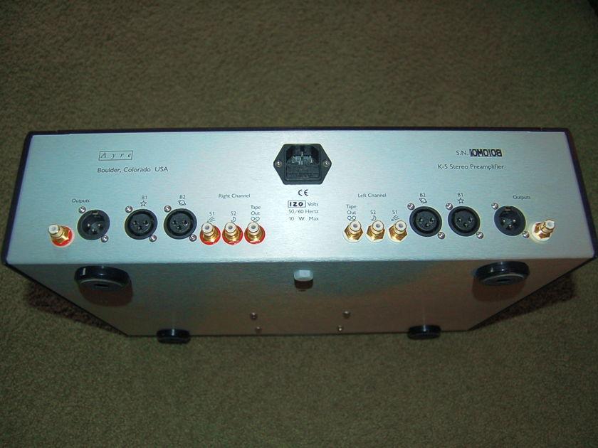 Ayre Acoustics K-5xeMP Preamplifier Black Anodized
