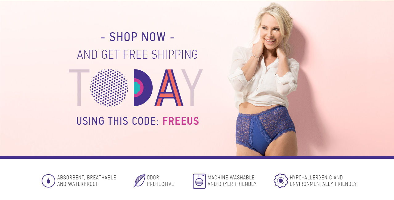 Shop now environmentally friendly bladder leakage underwear