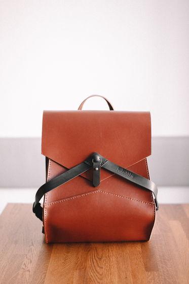 Рюкзак Linge ( Кожаный рюкзак / сумка)