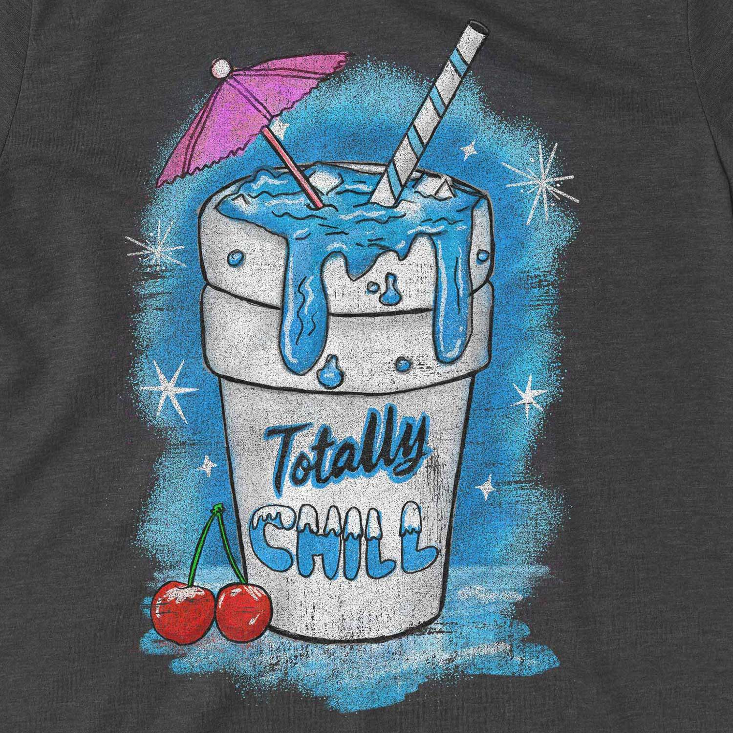 Totally Chill Retro Inspired Unisex Graphic T Shirt