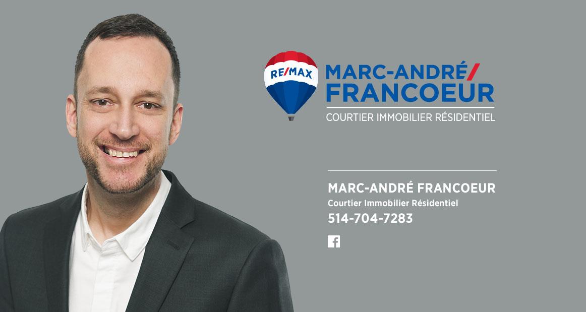 Marc-André Francoeur - Courtier Immobilier Résidentiel