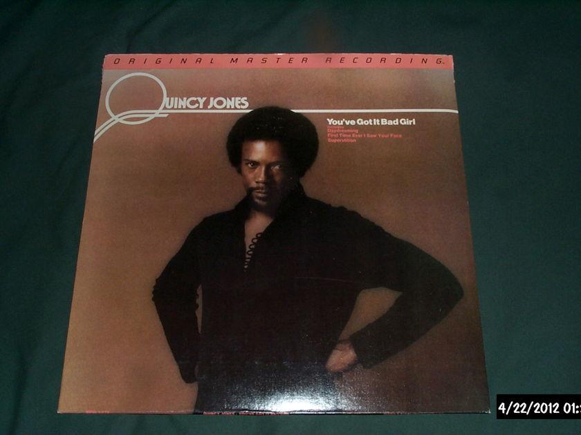 Quincy Jones - You've Got It Bad girl mfsl audiophile lp nm