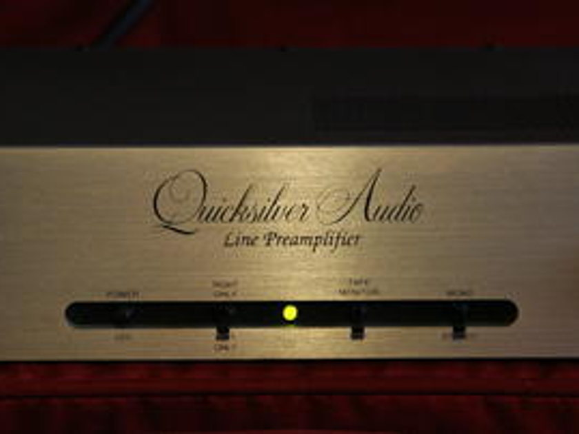 Quicksilver Line Pre Amplifier Tube Line Stage!!!