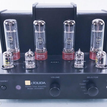 JD202BRC Stereo Tube Integrated Amplifier