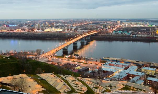 Путешествие по памятным местам Нижнего Новгорода (обзорная экскурсия)