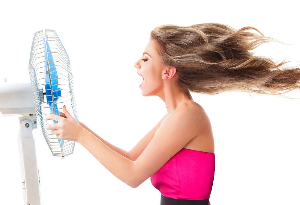 Women Experiences Hot Flushes During Menopause