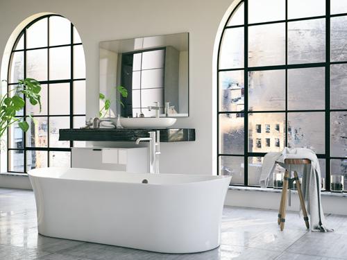 badezimmer inspiration freistehende badewannen sind im trend