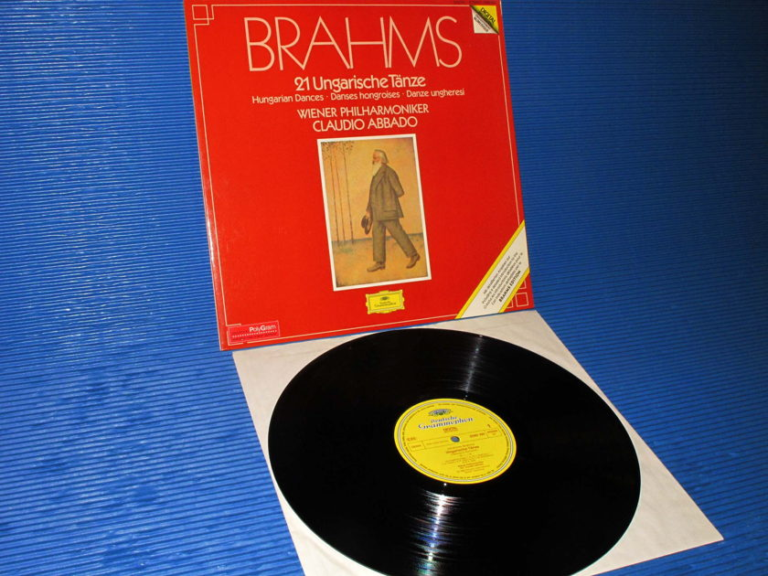 "BRAHMS / Abbado   - ""21 Hungarian Dances"" -  DGG 1983 German pressing"