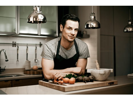 Private Cooking Class with Celebrity Chef + Autographed Cookbook