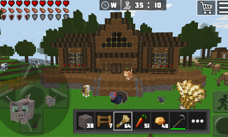 8 Best Minecraft-like games for Android as of 2019 - Slant