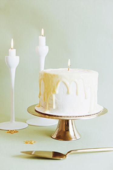 Ореховый торт «Свеча»