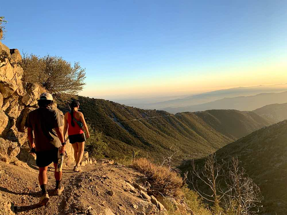 Hike to San Gabriel Peak in Southern California
