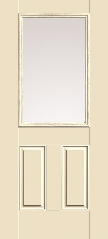 HALF GLASS, NO GRIDS EXTERIOR DOOR