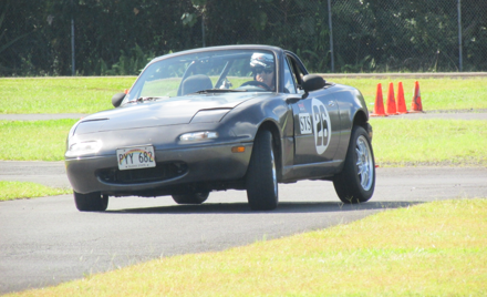 Hawaii Island SCCA Solo Event #1  FEB 18/ 2018 AM