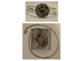 Petoskey Stone Necklace and Bangle Set