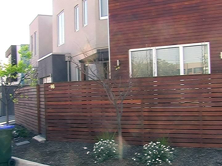 Wooden Fence Graffiti Coating