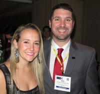Michael Branham - pictured with Alexa von Tobel, founder and CEO of LearnVest.com: The CFP Board cannot act as both a regulator for CE providers and as a CE provider themselves.