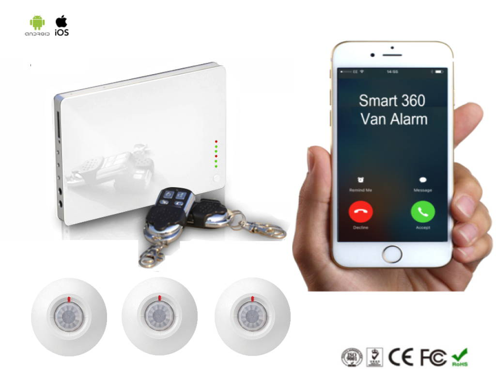 security van alarm
