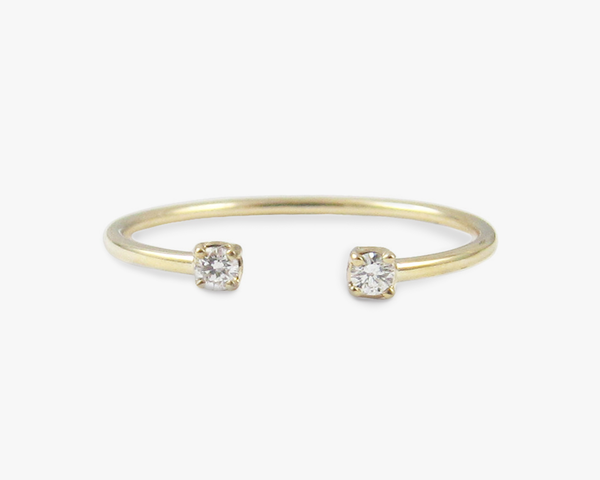 Consider the Wldflwrs | Diamond Accent Ring