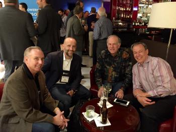Greg Friedman, Eric Clarke, Bob Curtis and Tony Leal