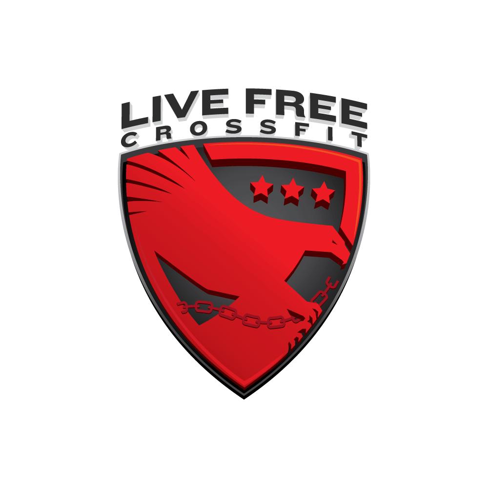 Live Free CrossFit logo