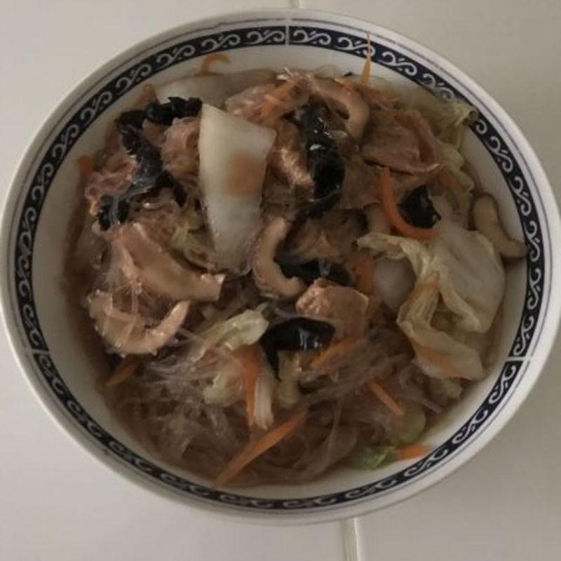 Cooked Vegetarian Zhai again! Yummy