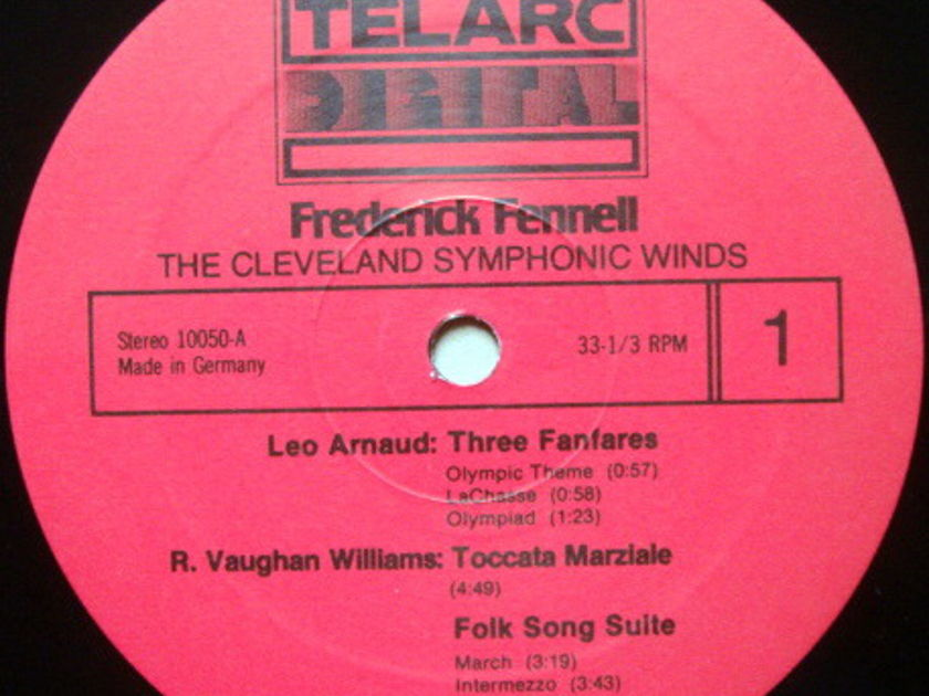 ★Audiophile★ Telarc / FENNELL, - Arnaud 3 Fanfares for Brass & Percussion, MINT!