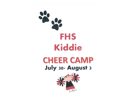FHS Kiddie Cheer Camp (ages 4-12)