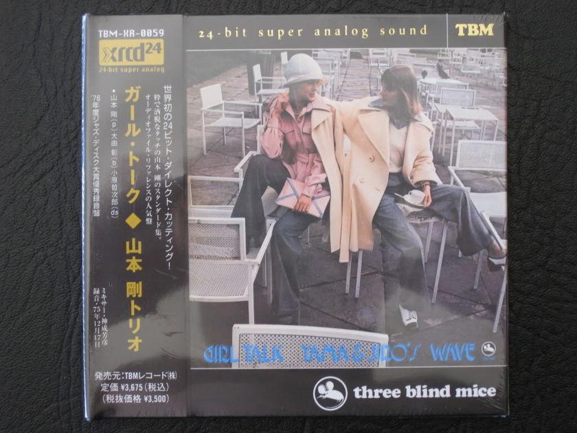 (TBM) TSUYOSHI YAMAMOTO  - - GIRL TALK  - JAPAN JVC XRCD24 (BRAND NEW)