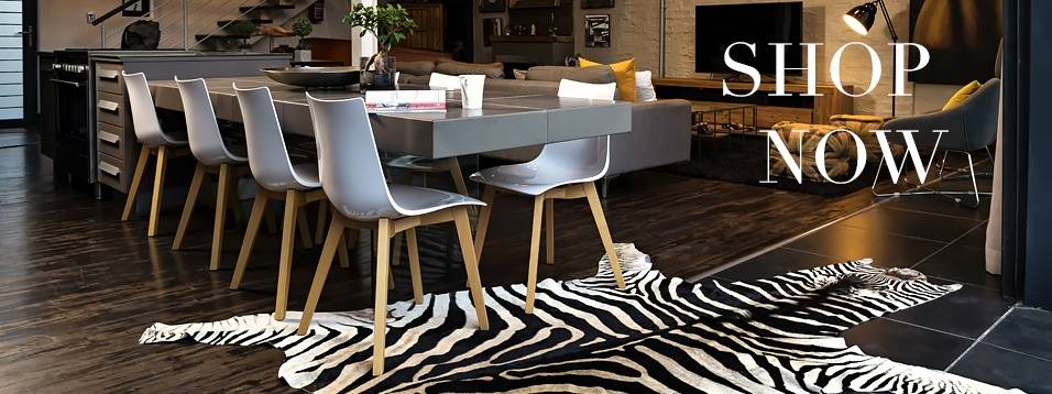 Top selling hides floating Zebra hide and zebra skin rug
