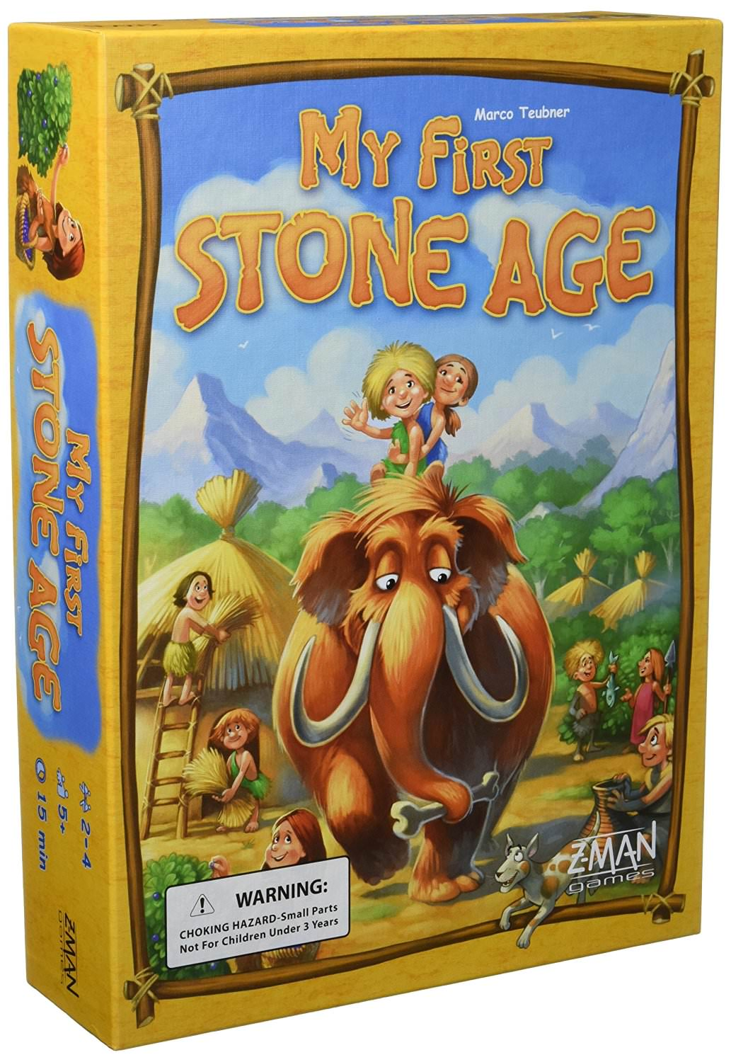 My First Stone Age - What are the best board games for kids